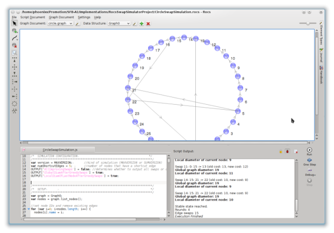 Rocs 1.8 Screenshot